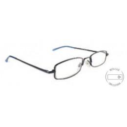Vékony keretes kék szemüveg