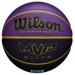 Kosárlabda Wilson MVP Elite gumi 7-es méret lila-fekete