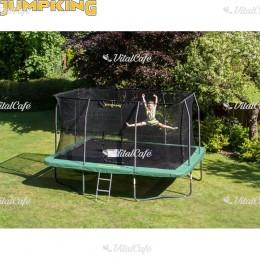 Trambulin Jumpking szögletes 366x519 cm