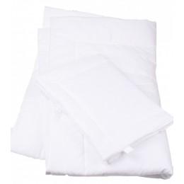 100 % Pamut, fehér, 2 részes gyerek ágynemű garnitúra