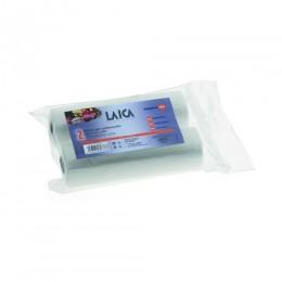 Laica vákuum légcsatornás, BPA mentes csomagoló tömlő 20x600 cm. 2 db tekercs