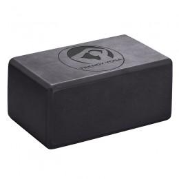 Jóga tégla Trendy 23x15x10 cm fekete