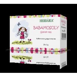 BABAMOSOLY GYEREK TEA BOR.FILT. 20X