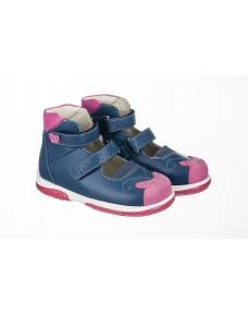 Memo princessa kék-rózsaszín gyerekszandál d29f8570be