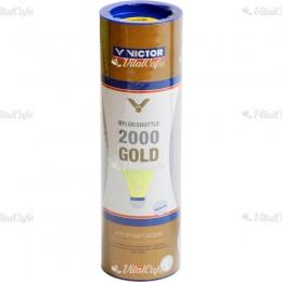Tollaslabda Victor 2000 Gold kék csík, sárga szoknya
