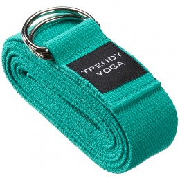 Jóga szalag Trendy 190x4x0,2 cm zöld