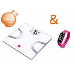 Beurer Body Shape System - BF 710 & AS 81 Pink