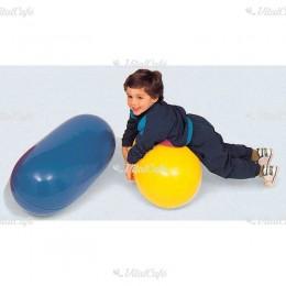 Henger alakú labda 75 cm sárga