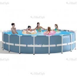 Vízforgatós medence szett fémvázas Intex 549x122 cm