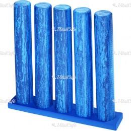 Egyensúlyozó henger tartó Trendy kék