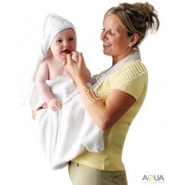 Clevamama babatörölköző fehér