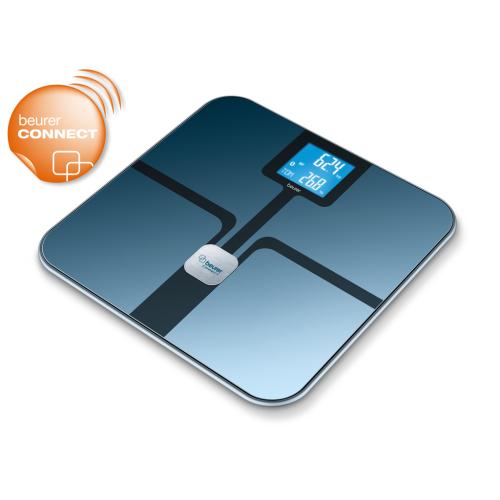 Beurer BF 800 Üveg diagnosztikai mérleg Bluetooth (fekete)