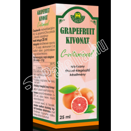 GRAPEFRUIT KIVONAT+C-VITAMIN 25ML