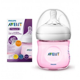 Avent SCF031/17 Natural cumisüveg 125 ml PINK