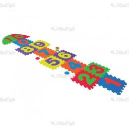 Ugróiskola szőnyeg puzzle