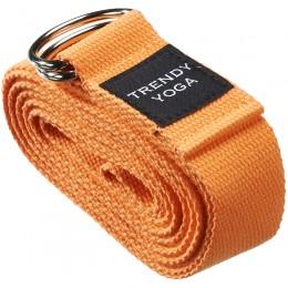 Jóga szalag Trendy 190x4x0,2 cm narancssárga