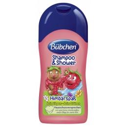 Bübchen 50 ml-es Málnás sampon és fürdető