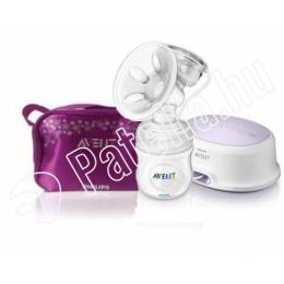Avent Comfort elektromos mellszívó kozmetikai táskával