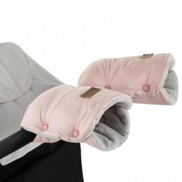 P&M  Kesztyű / Kézmelegítő babakocsira Jasie Flamingo Pink