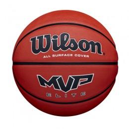 Kosárlabda Wilson MVP Elite gumi 7-es méret barna