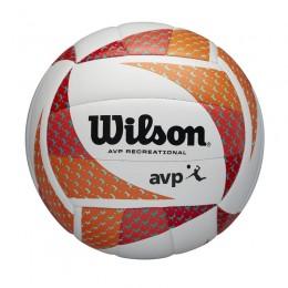 Strandröplabda Wilson AVP Style VB narancs-fehér
