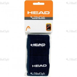 Head Wristband 2,5 csuklószorító fekete