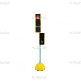 Közlekedési lámpa állvánnyal