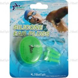 Swimfit 404030 füldugó szilikon 3 db/cs zöld