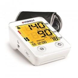 Színes kijelzős felkaros vérnyomásmérő ajándék adapterrel