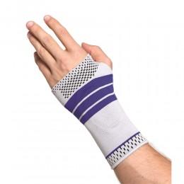 OrtoCare csukló- és kézfejszorító szilikon betéttel jobb M