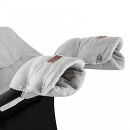 P&M  Kesztyű / Kézmelegítő babakocsira Jasie  Steel Grey