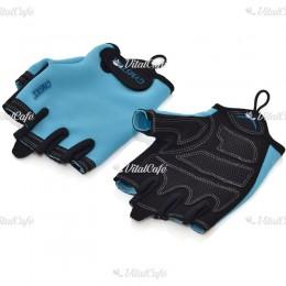Fitnesz kesztyű Gymstick M kék