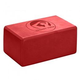 Jóga tégla Trendy 23x15x10 cm piros