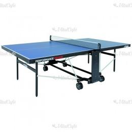 Stiga ping-pong asztal Performance beltéri, kék, hálóval és hálótartóval