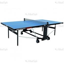 Stiga ping-pong asztal Performance kültéri, kék, hálóval és hálótartóval