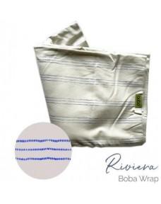 Boba Babahordozó/kendõ Wrap Print Bamboo Riviera