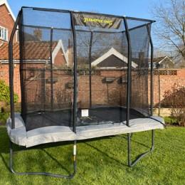 Trambulin Jumpking Pro szögletes 183x275 cm