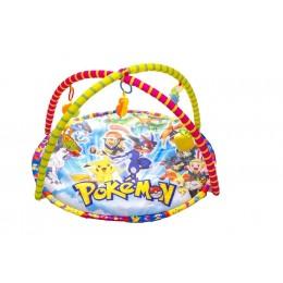 játszószőnyeg Pokemon mintával
