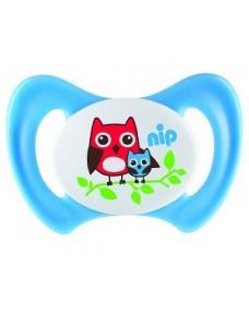 NIP Miss Denti speciális szilikon cumi fogcsoportokkal rendelkező babáknak 1db-os