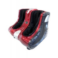 Delux Shiatsu lábmasszázs piros színű