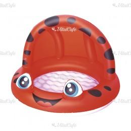 Baby naptetős pancsoló Bestway piros